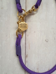 handmade-purple-rope-dog-collar-and-lead-with-whipping|collaredcreatures