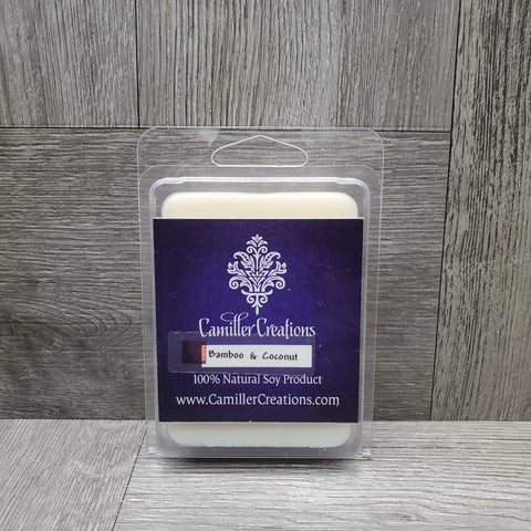 Bamboo and coconut wax melts