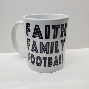 Faith Family  Football Patriots