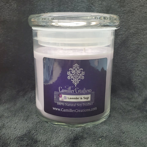 Lavender & Sage 3-wick Candle