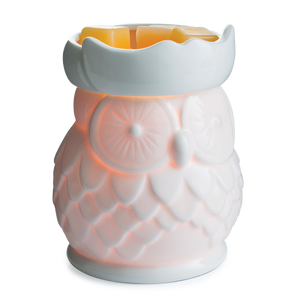 Porcelain Owl Warmer
