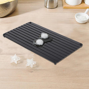 (BUY 2 FREE SHIPPING)Fast Defrosting Tray for Frozen Food Thawing Plate Defrost Meat