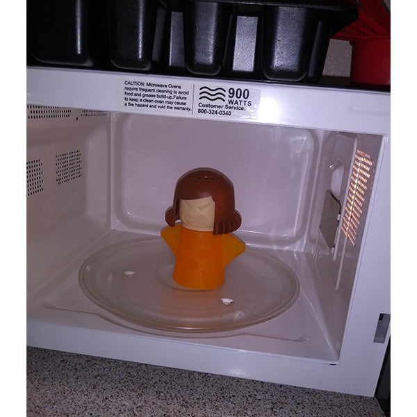 Angry mother microwave cleaner