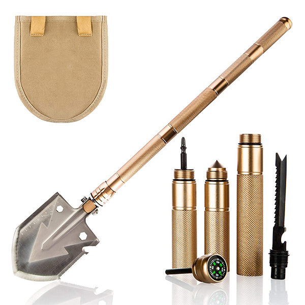 2018 NEW Military Portable Folding Survival Shovel with Waist Pack