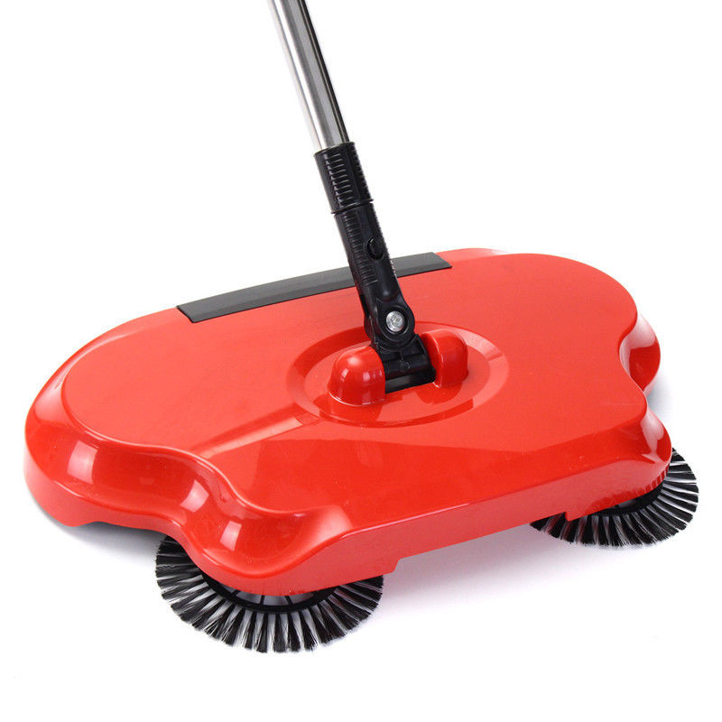 SWEEPER WITH ROTATING BRUSHES