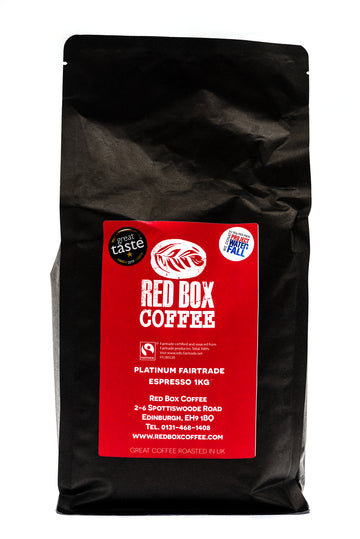 Red Box Platinum Fairtrade Coffee