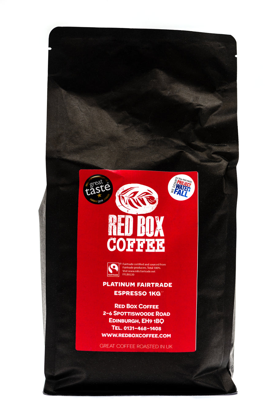 Red Box Platinum Fairtrade Coffee, Great Taste 1-Star 2019
