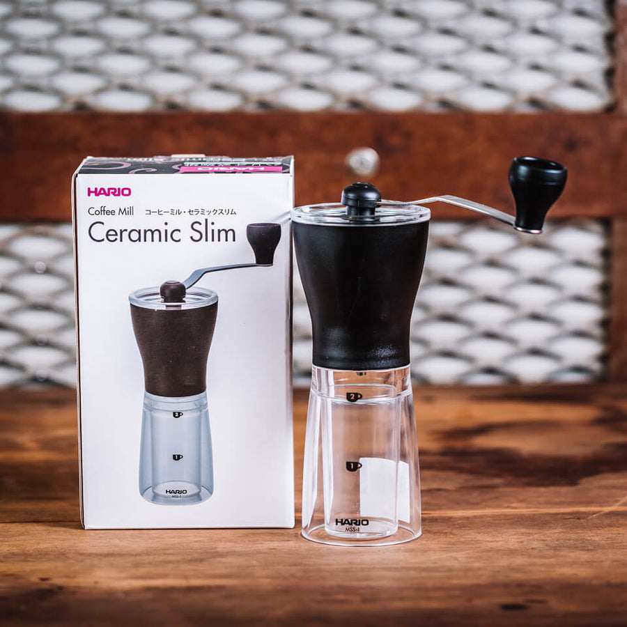 Hario Mini Mill Slim Plastic Coffee Grinder