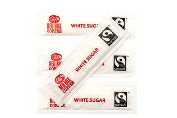 Red Box Fairtrade White Sugar Sticks 1000