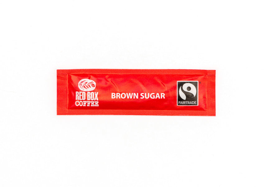 Red Box Fairtrade Brown Sugar Sticks 1000