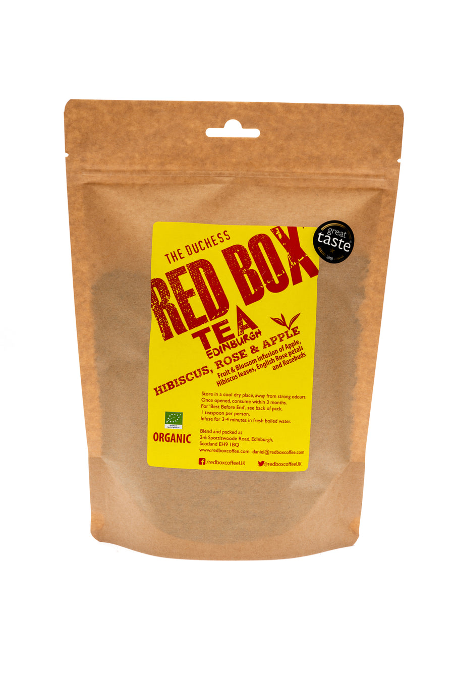 Red Box Tea Hibiscus, Rose & Apple Loose