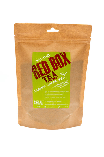 Red Box Tea Jasmin Green Tea Loose