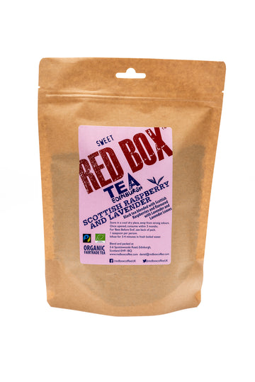 Red Box Tea Scottish Raspberry & Lavender Loose