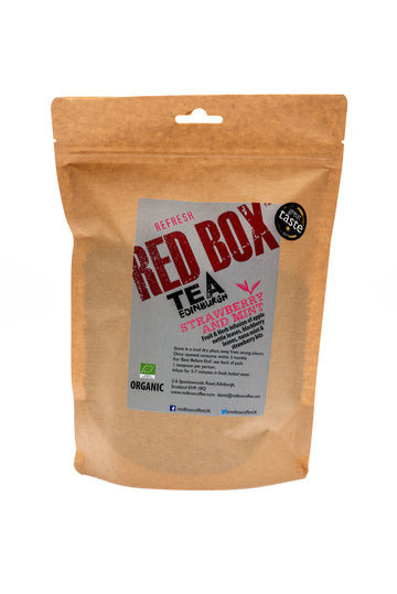 Red Box Tea Strawbery and Mint Loose