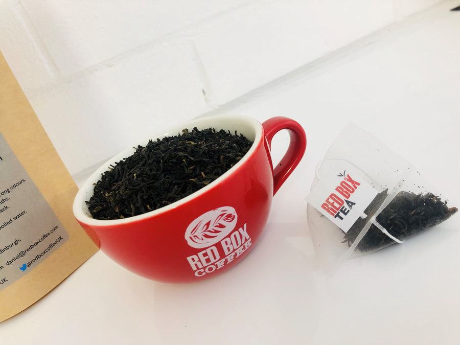 Red Box Tea Elegant British Breakfast Tea Bags