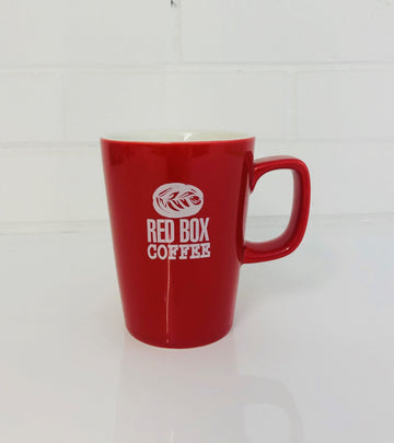 Red Box Coffee Mug