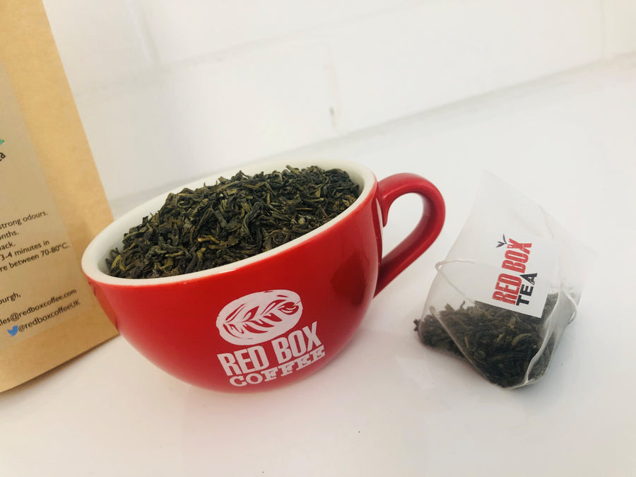 Red Box Tea Gunpower Deluxe Green Tea Bags