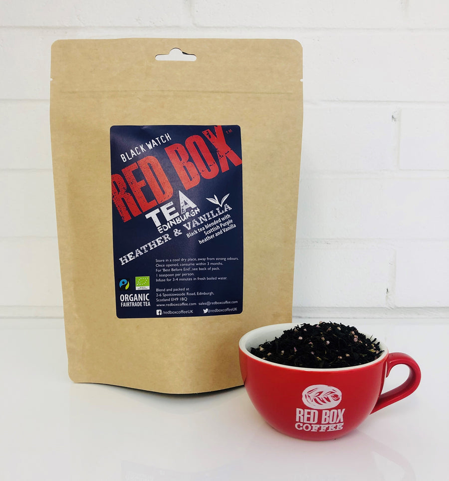 Red Box Tea Scottish Heather & Vanilla Loose