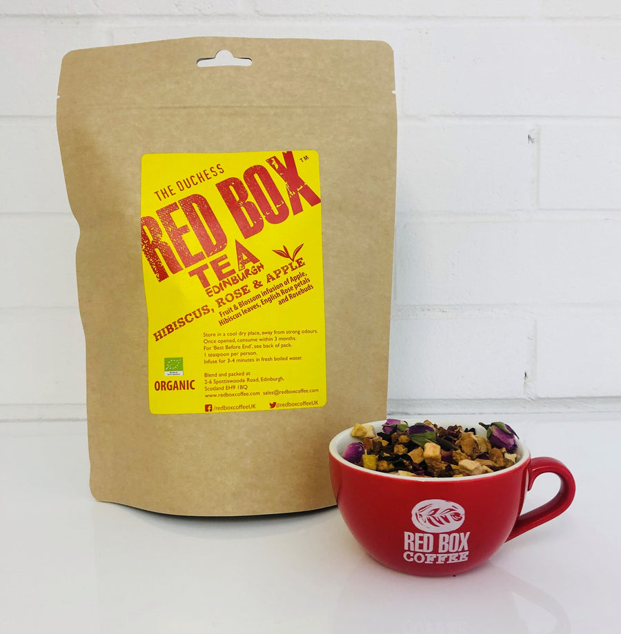 Red Box Tea Hibiscus, Rose & Apple Bags