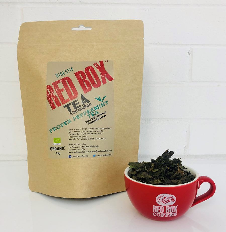 Red Box Tea Proper Peppermint Loose