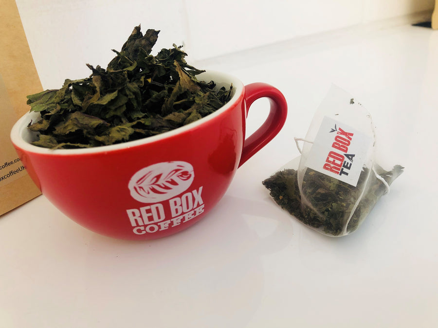 Red Box Tea Proper Peppermint Bags