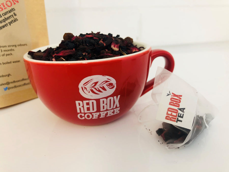 Red Berry Infusion Bio Tea Bags