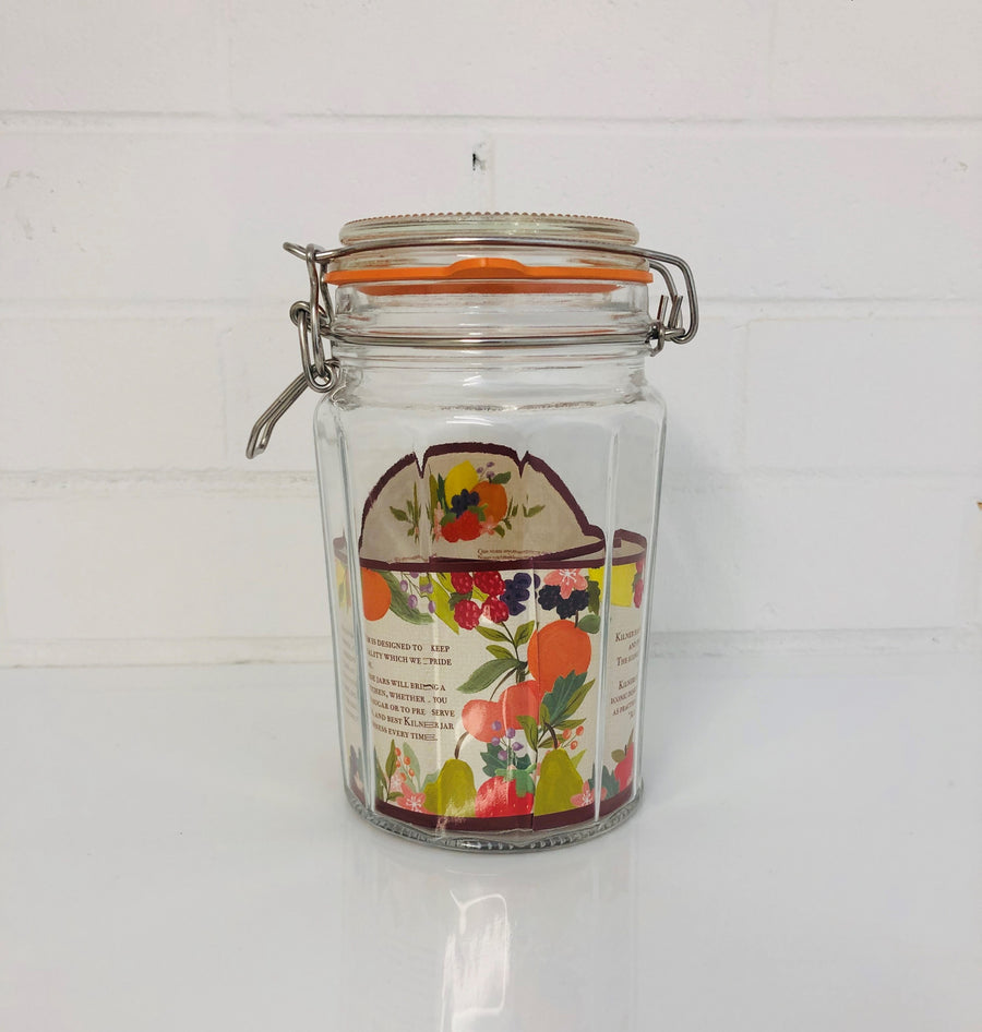 Red Box Tea Jar