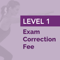 Level 1 Exam Correction Fee