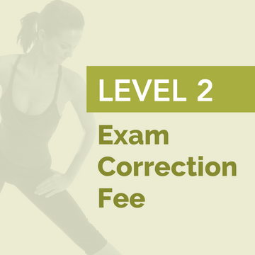 LEVEL 2 - Exam Correction Fee