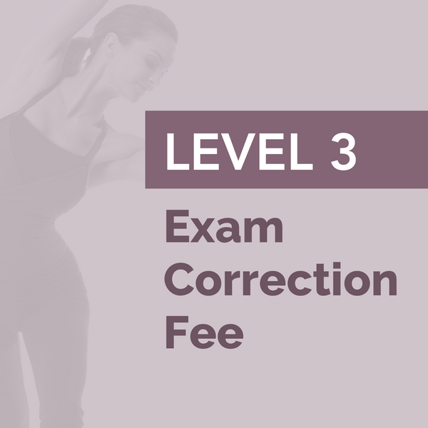 LEVEL 3 - Exam Correction Fee