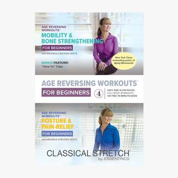 Essentrics Age Reversing Workouts for Beginners DVD Box Set