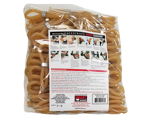 Bag of 100 Callicrate SMART Loops™