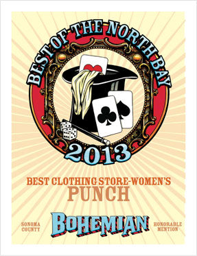 PUNCH Clothing Best of North Bay 2013