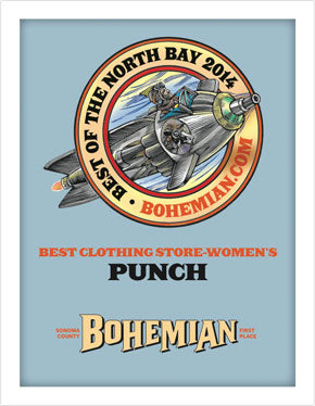 PUNCH Clothing Best of North Bay 2014