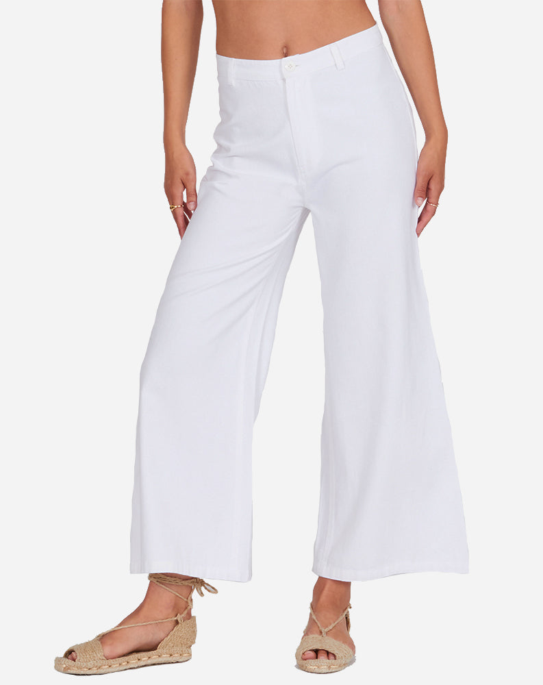 Dominga Pant in Off White