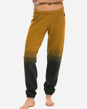 Faded Sweatpant in Nugget Gold/Charcoal