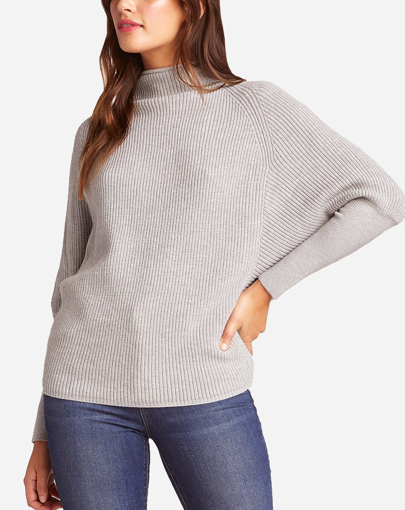 Sugar Glider Sweater in Light Heather Grey