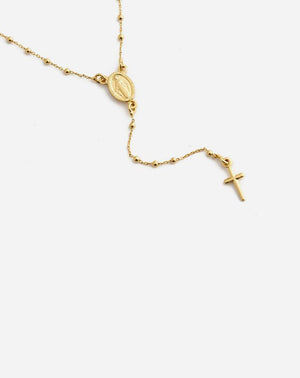 Roma Rosary in Gold