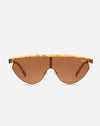 Goldie in Orange Tort/Brown