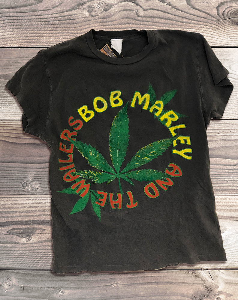 Bob Marley & the Wailers Tee in Black Pigment