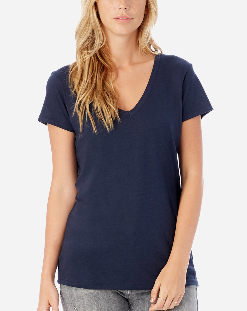 Everyday V Neck Midnight