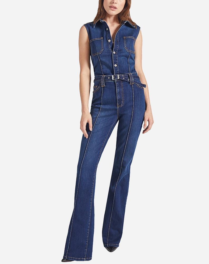 The Zenith Jumpsuit in Riptide
