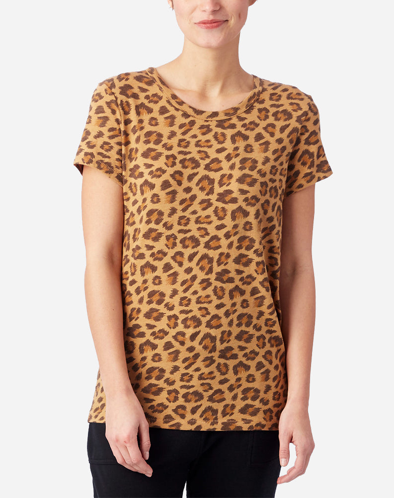 Printed Ideal T-Shirt in Leopard