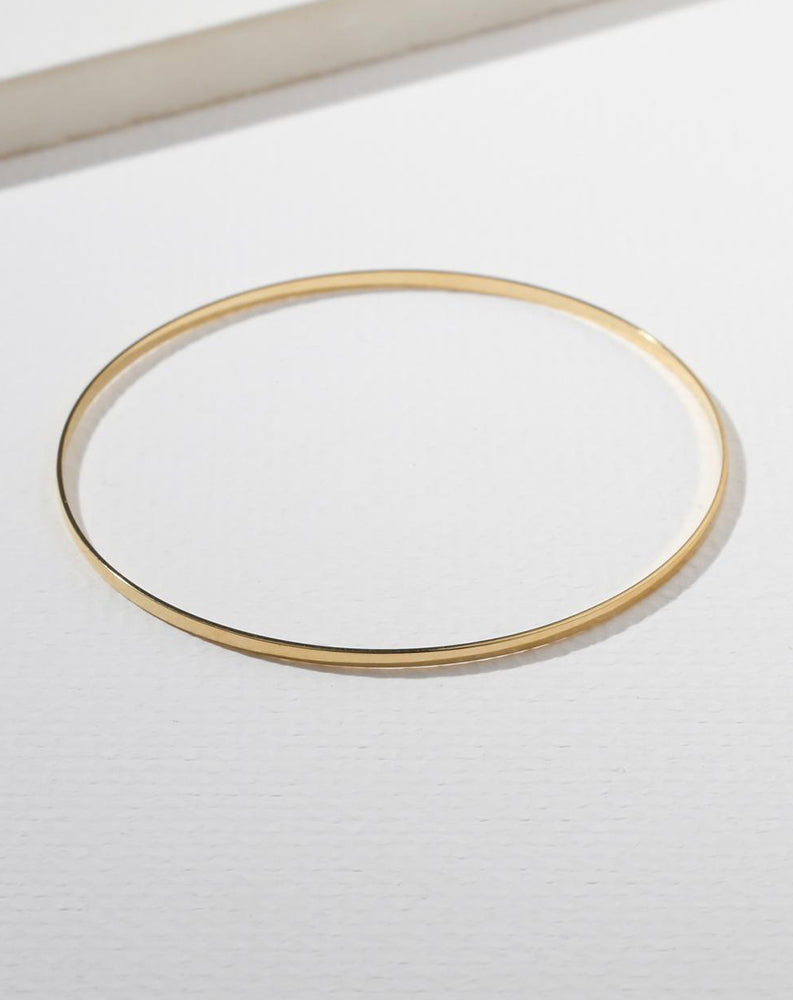The Audacious Bangle in Gold