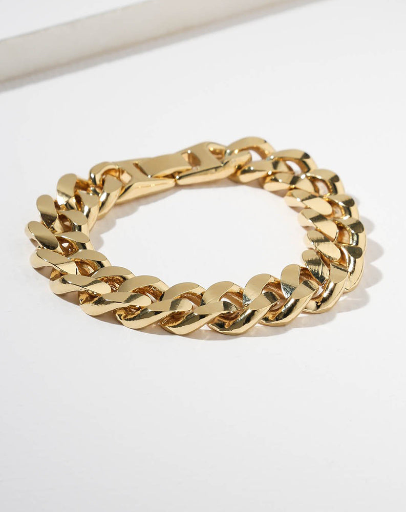The Cypress Bracelet in Gold