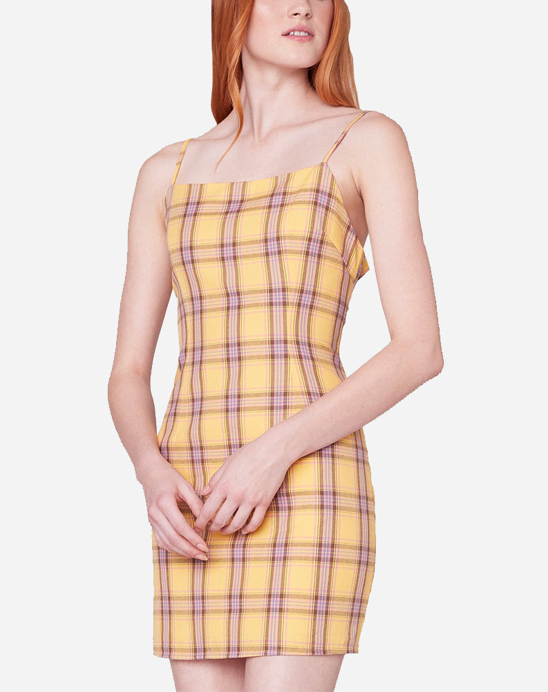 Total Betty Dress in Lemon Drop
