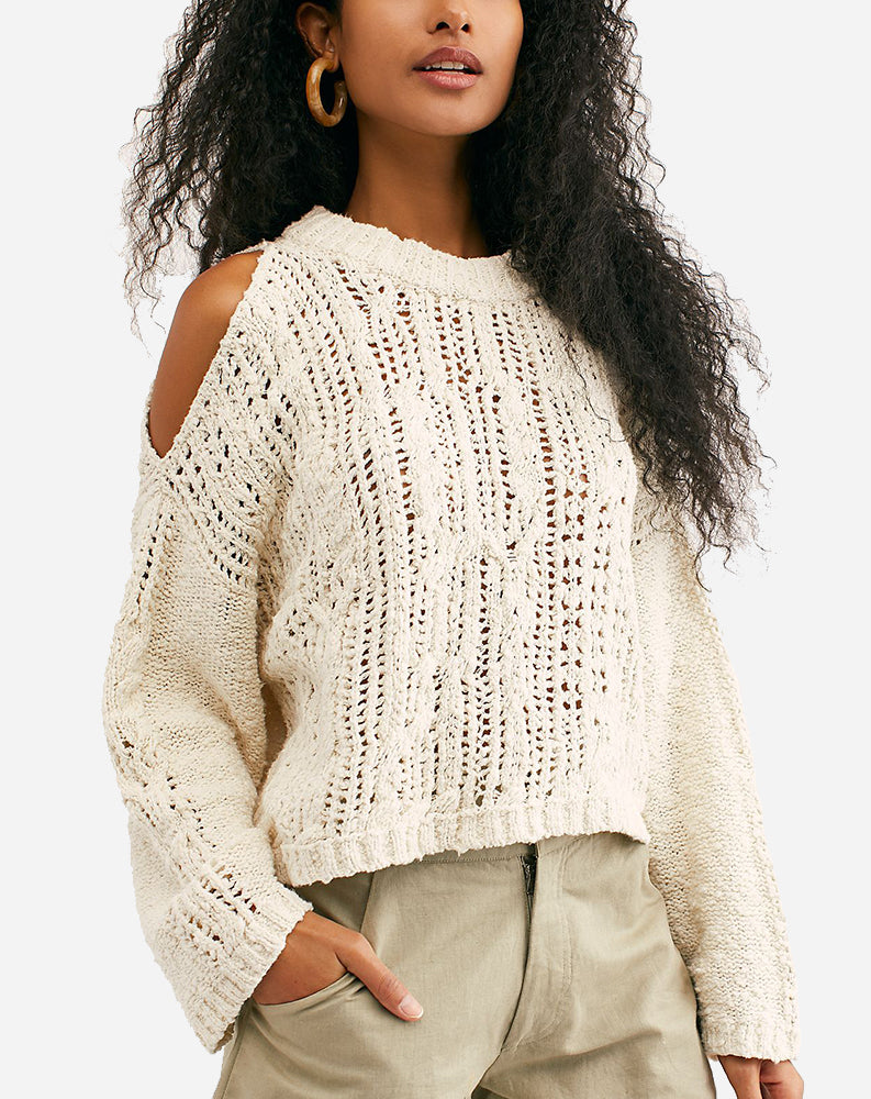 Cold Ocean Sweater in Ivory