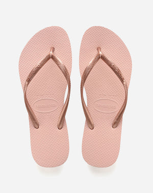 Slim Sandal in Ballet Rose