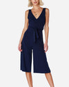 Wrap Jumpsuit in Navy