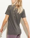 Cielo V-Neck Tee in Pigment Black